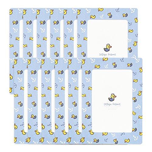 Monolike Design Frames Kids-Marine Ente 12Blatt, Passt 10,2x 15,2cm Bilder - Ente Frame