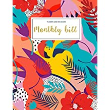 Monthly Bill Planner And Organizer: womens financial planner | 3 Year Calendar 2020-2022 | Budgeting Workbook Finance Monthly & Weekly Budget Planner ... Floral (Financial Planner Budget Book)