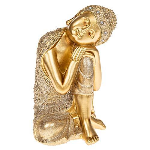 Darthome Ltd - Decorative Figure of Thai Buddha Sitting in Gold (Large size)