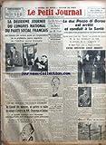 Telecharger Livres PETIT JOURNAL LE No 27344 du 27 11 1937 LA DEUXIEME JOURNEE DU CONGRES NATIONAL DU PARTI SOCIAL FRANCAIS PAR PIERRAT FIN DE SEMAINE POLITIQUE CHARGEE AU CONSEIL DES MINISTRES ON PARLERA CE MATIN DU VOYAGE A LONDRES DE MM CHAUTEMPS ET DELBOS LE DR SCHACHT MINISTRE DE L ECONOMIE DU REICH EST REMPLACE PAR M FUNK JE VAIS GAGNER BEAUCOUP D ARGENT ECRIVAIT UNE JEUNE DANSEUSE DE 18 ANS A SA MERE LE DUC POZZO DI BORGO EST ARRETE ET CONDUIT A LA SANTE M HUBERT PASTRE RETOUR DE H (PDF,EPUB,MOBI) gratuits en Francaise