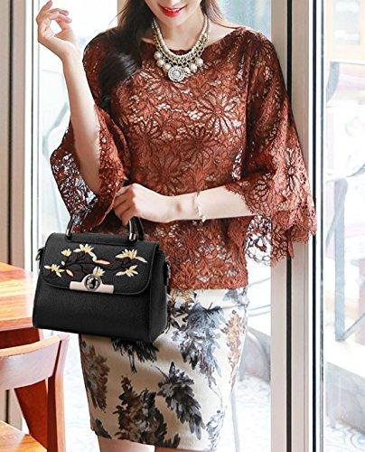 Maibaoma Pu Cool Damen Handtaschen, Hobo-Bags, Schultertaschen, Beutel, Beuteltaschen, Trend-Bags, Velours, Veloursleder, Wildleder, Tasche Light Grau