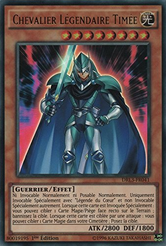 "Carte Yu-Gi-Oh! ""Chevalier Légendaire Timée"" DRL3-FR041 - VF/ULTRA RARE"