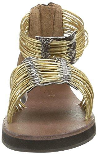 ELIZABETH STUART Damen Pexy 871 Sandalen Gold - Or (Naturel/Or)