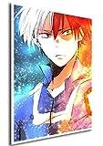 Poster My Hero Academia Shoto - Formato A3 (42x30 cm)
