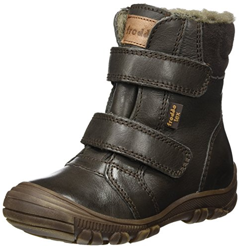 Froddo Unisex-Kinder Boot G3110092-3 Schneestiefel, Braun (Dark Brown I59), 37 EU (Gefüttert Stiefel Kinder Wolle)
