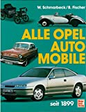 Alle Opel Automobile seit 1899