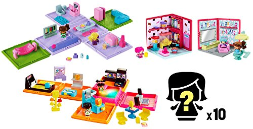 My Mini mixieq' S Bundle–Mini Rooms, Playsets, and Figuren (Wire Counter Displays)