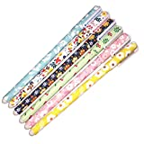 Bravoe Flower Design Ballpoint Pen Pack of 6 , Boxed (1, Floral)