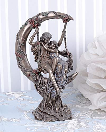ROMANTISCHE Figur VERLIEBTES Paar IM JUGENDSTIL Vintage Palazzo Exclusiv