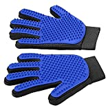 Dixinla Pet brush Pet Gloves Rubber Massage Gloves Cat bath Beauty Cleaning Glove Dog Shampoo 21 * 18cm