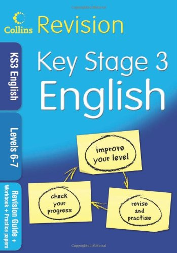 KS3 English L6–7: Revision Guide + Workbook + Practice Papers (Collins KS3 Revision): Levels 6-7 (Collins Revision) por Collins