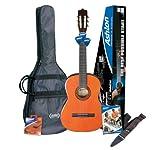 Ashton SPCG34 3/4-Size Classical Guitar Starter Pack - Natural
