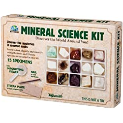 Toysmith Mineral Science Kit, Multi Color