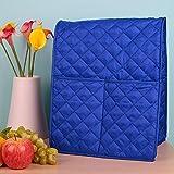CSMARTE staubdichte Standmixerabdeckung, Tasche für KitchenAid Mixer blau