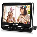 Pumpkin Lettore DVD auto poggiatesta schermo da 10,1 pollici con supporto, Regione free, porta HDMI, video 1080P, multiformati, supporta FM e IR