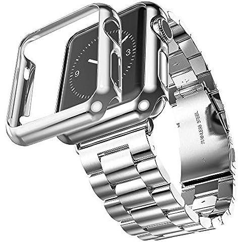 Orologio per Apple, in acciaio INOX, 3