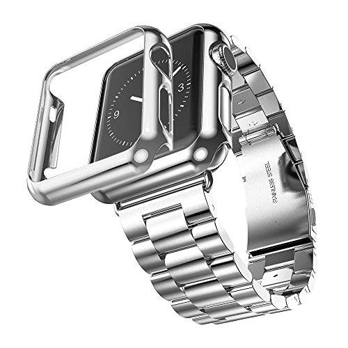 fucool-bracelet-en-acier-inoxydable-3-points-avec-coque-de-protection-pour-apple-watch-42mm-silver