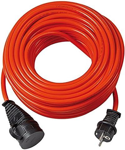 Brennenstuhl Bremaxx Verlängerungskabel IP44 25m orange, 1161600 (Günstig Rasenmäher)
