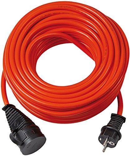 garten kabel Brennenstuhl Bremaxx Verlängerungskabel (20 m Kabel, für kurzfristigen Einsatz im Außenbereich IP44) rot