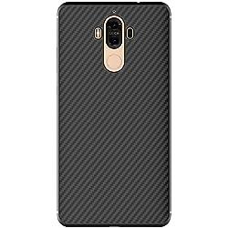 Meimeiwu Haute Qualité Carbon Fiber Coque Etui Housse de protection pour Huawei Mate 9 Noir