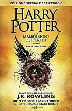 Cover Harry Potter e la maledizione dell'erede. Parte uno e due Scriptbook. Ediz. speciale