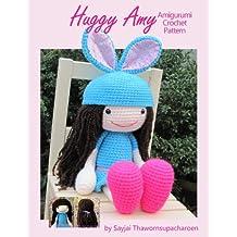 Huggy Amy Amigurumi Crochet Pattern (Big Huggy Dolls Book 8) (English Edition)