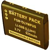 Batterie compatible pour OLYMPUS LI-50B