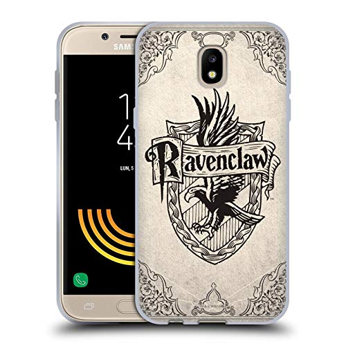 Head Case Designs Offizielle Harry Potter Ravenclaw Pergament Sorcerer's Stone I Soft Gel Huelle kompatibel mit Samsung Galaxy J5 (2017) -