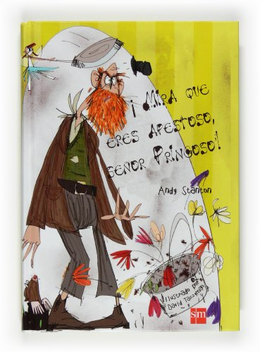 Portada del libro ¡Pero mira que eres apestoso, señor Pringoso! (El señor pringoso)