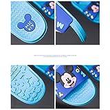 Home & Style Sommer Hausschuhe Cartoon Schuhe Anti-Rutsch-Badezimmer Haushalt Innenschuhe Sandalen Wasserdichte Schuhe Meer Elektro-Optik blau/weiblich 38