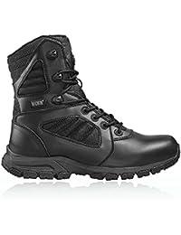 HI-TEC - Magnum Lynx 8.0 Black Side Zip Schuhe Herren Boots Ranger Security Polizei Paintball Neu