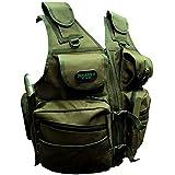 CKSN chaleco de detección de metales–Tamaño ajustable Integral mochila con múltiples bolsillos y pouches7colores.