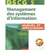 Management des systèmes d'information, DSCG 5 : Manuel et applications