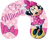 Little Flight Cuscino da Auto Cuscino Collo Bambini Viaggio Minnie Disney Dimensione Cuscino 28 cm x 33 cm