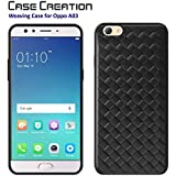 "Case Creation Black Soft Black Border Corner Protection With TPU Slim Matte Back Case Cover For Oppo A83/Oppo A83 CPH1729/OppoA83 5.7"" Inch"