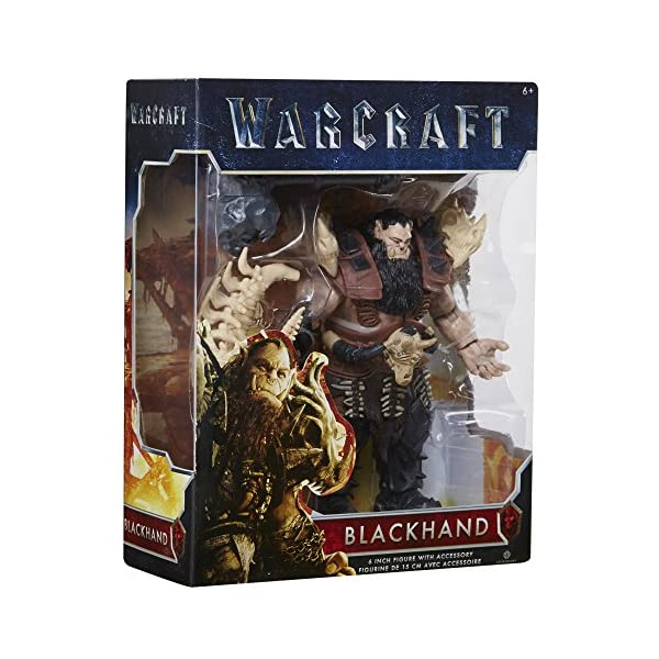 Warcraft 6 Blackhand Action Figure With Accessory by Warcraft 4