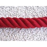 Corrimano Corda, Corda Accerchiare, 40mm, colore: rosso vino