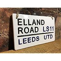 LEEDS UTD-Elland Road-Football Sign-Street Sign