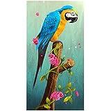 Tomtopp 5D Diamond Parrot Painting DIY Mosaic Embroidery Cross Stitch Kit Art Decor