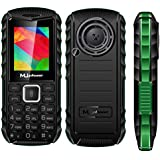 MUPHONE M290 Basic Feature Mobile Phone With DUAL SIM, 1.8 Inch Display, Speed Dialing, Auto Call Recording, FM Recording, 1200 MAh Battery, Expandable Memory,Big Speaker, Big Torch, BLUETOOTH, VIBRATION, CAMERA, BIS CERTIFIED & 1 YEAR WARRANTY (Green
