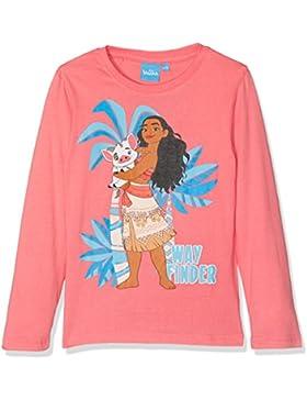Vaiana Ls T-Shirt, Maglia a Maniche Lunghe Bambina
