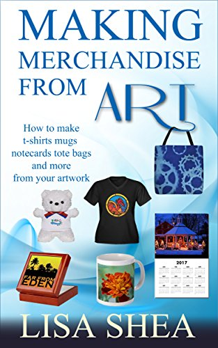 rom Art  - How to make t-shirts mugs notecards tote bags and more from your artwork (English Edition) (Artist Tote Bag)