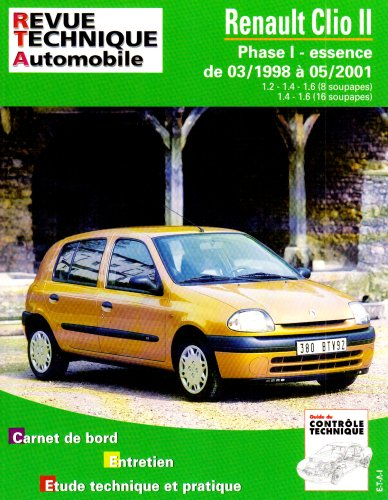 Renault Clio 2 essence par Revue technique automobile