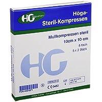Höga Steril Kompressen 10 x 10 cm 8 fach, 5X2 St preisvergleich bei billige-tabletten.eu