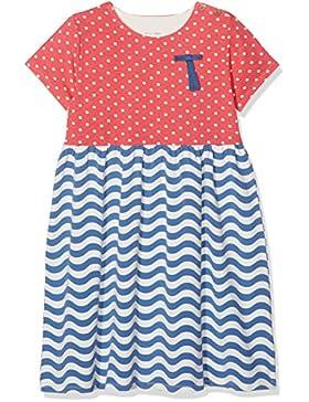 Unbekannt Mädchen Kleid Wavy Polka Dress