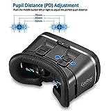 VR Headset, Canbor VR Brille Virtual Reality Headset, VR Box für 3D Video Filme Spiele, Videobrillen Smartphone Brille für 4-6