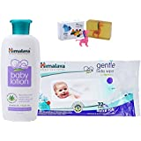 Himalaya Herbals Baby Lotion (200ml)+Himalaya Herbals Gentle Baby Wipes (72 Sheets) With Happy Baby Luxurious Kids Soap With Toy (100gm)