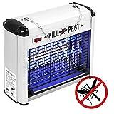 Matamoscas eléctrico Lámpara mata insectos voladores y moscas 12 W