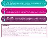 Svakom Nova Silikon Liebeskugeln Set für Frauen Beckenboden, Beckenbodentrainingsset für Sextraining und Vagina Training, 3er-Pack (50g,73g,97g), Wasserfest (Violett) -