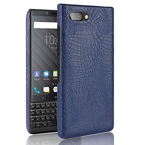 CiCiCat BlackBerry KEY2 LE Hülle Handyhüllen, Hard PC Back Cover Case Schutz Hülle Tasche Schutzhülle Für BlackBerry KEY2 LE. (4.5'', Blau) -